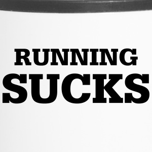 correr Sucks - Taza termo