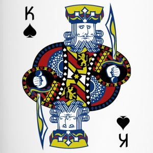 King of Spades Poker Hold'em - Travel Mug