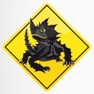 Australien Roadsign Thorny Devil - Thermobecher