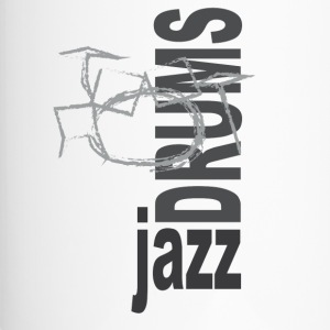 Jazz Drums - Travel Mug