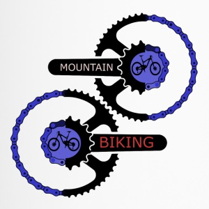 mountainbiking gears - MTB LOVE - Travel Mug