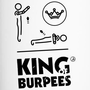 King of Burpees - Travel Mug