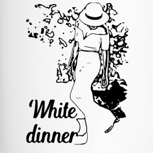 White Dinner Collection 1 - Thermo mok