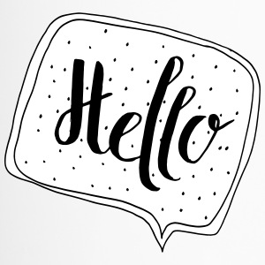 """Hello"" Speech Bubble - Travel Mug"