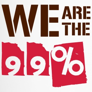 We are the 99 percent - Thermobecher