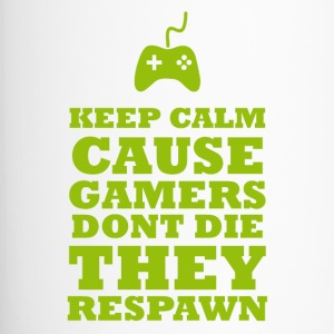Gamers Respawn - Thermobecher