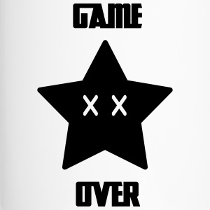 Game Over - Mario Star - Thermobecher