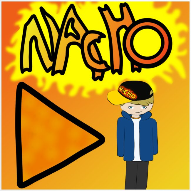 Nacho Title with Little guy
