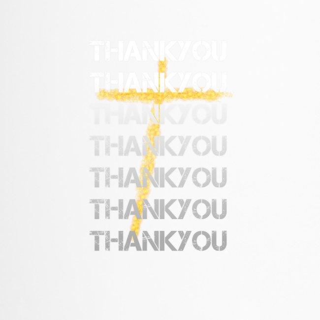 DANKE Jesus, das Geschenk für Christen THANKYOU