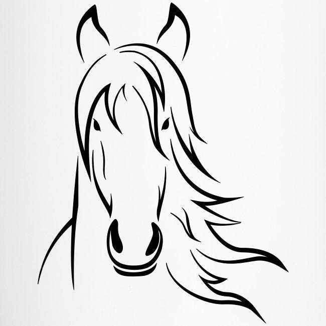 Vorschau: Horse - Thermobecher mit Tragegriff