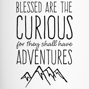 Blessed are the Curious - Travel Mug