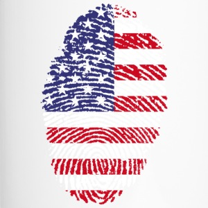 AMERIKA FINGERABDRUCK T-SHIRT - Thermobecher