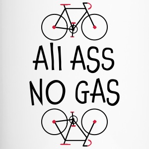 All Ass No Gas - Shirt not just for cyclists - Travel Mug