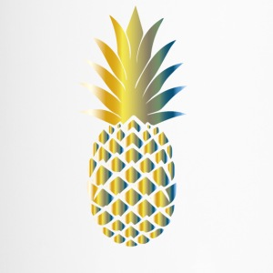 Bunte Ananas - Thermobecher
