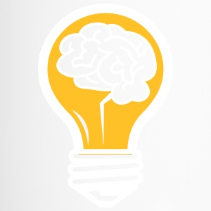 An Idea Popped Up! Light Bulb With A Brain! - Travel Mug