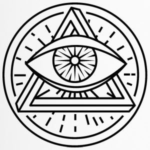 Eye of Providence med optisk illusion - Termokrus