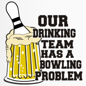 Bowling Ons Drinkend Team heeft Bowling Problem - Thermo mok