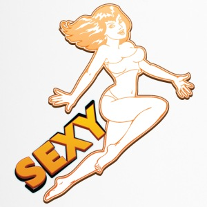 Skoki sexy pin up girl - Kubek termiczny