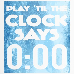 Eishockey: Play ´til the clock says 0:00 - Thermobecher