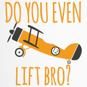 Pilot: Do you even lift bro? - Thermobecher