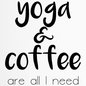 Yoga en koffie - Thermo mok