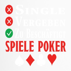 poker - Thermobecher