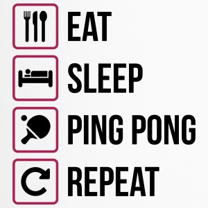 Eat Sleep Ping Pong Repeat - table tennis - Travel Mug