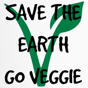 Save the earth go veggie - Thermobecher