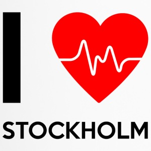 I Love Stockholm - Ich liebe Stockholm - Thermobecher