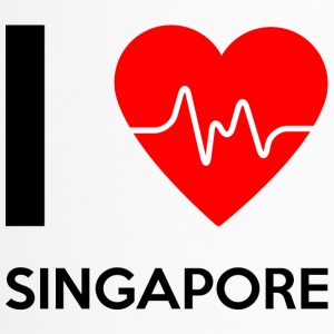 I Love Singapore - Ich liebe Singapore - Thermobecher