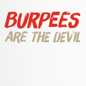 Burpees are the devil - Travel Mug