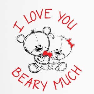 I love you beary much - Thermobecher