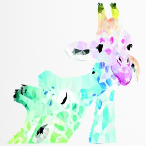 Giraffe Polygon - Thermobecher