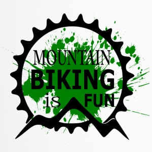 Mountain Biking is Fun - MTB Love - Travel Mug