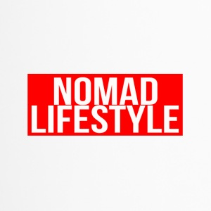 nomad lifestyle red - Travel Mug