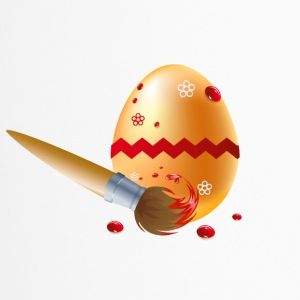 Easter Egg - Vector - Mug thermos