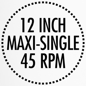 12-Zoll-Maxi-Single 45 RPM VINYL (schwarz) - Thermobecher