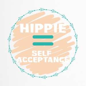 Hippie / Hippies: Hippie = Self Acceptance - Thermobecher