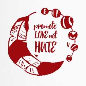 Hippie / Hippies: Promote Love not Hate - Travel Mug