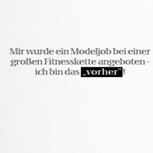 Modeljob bei Fitnesskette - Thermobecher