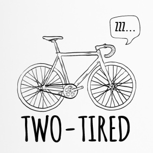 Cycling: Two-Tired - Travel Mug