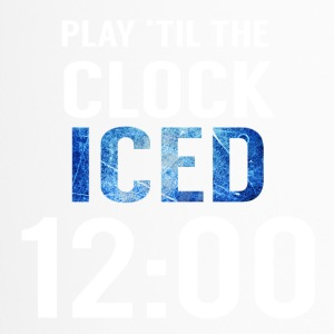 Eishockey: Play ´til the clock iced 12:00 - Thermobecher