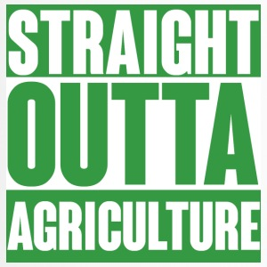 Farmer / Landwirt / Bauer: Straight Outta Agricult - Thermobecher
