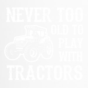 Man's toy tractor - Travel Mug