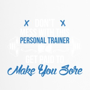 Personal Trainer Gym - Tazza termica