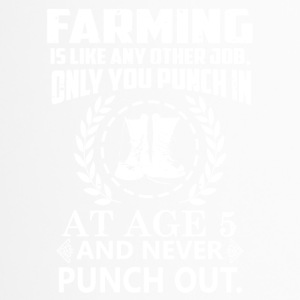 agriculture agriculteur - Mug thermos