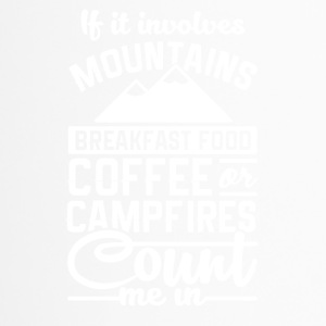 Mountains and camping - Travel Mug