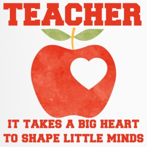 Lehrer / Schule: Teacher - It Takes A Big Heart To - Thermobecher