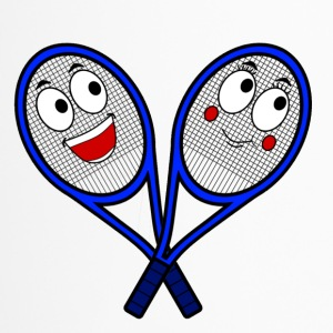 Cute Tennis Rackets - Travel Mug
