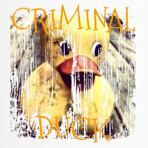 Pénale criminel Duck Duck - Mug thermos